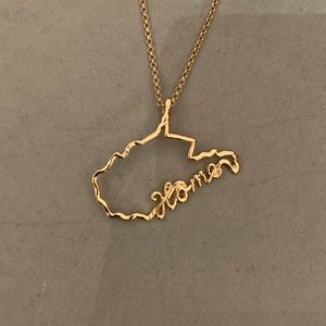 Jewelry - West Virginia Home Necklace